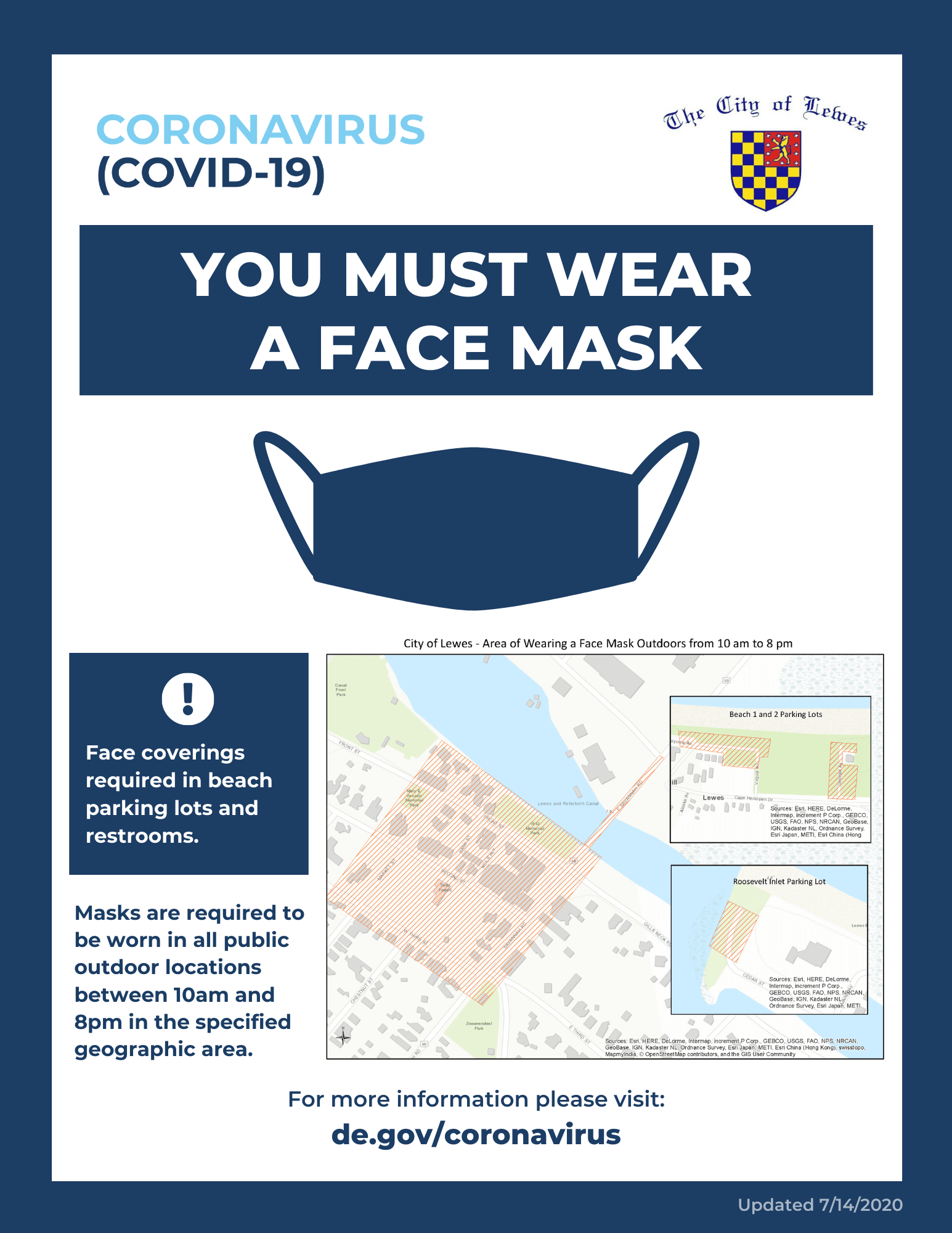 Town of Lewes Mask Guidance 8.5x11